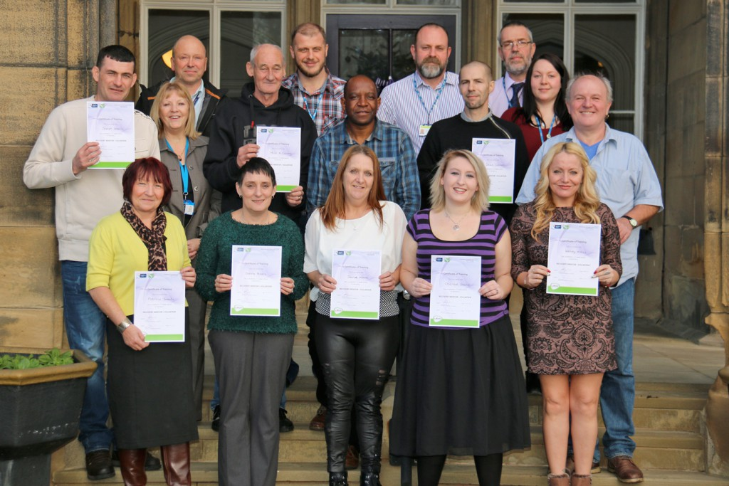 peer supporters graduation