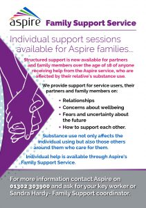 Family support service flyer