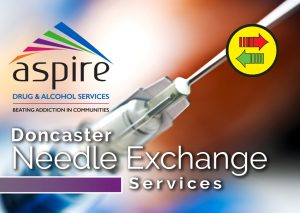 Needle exchange leaflet cover