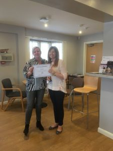 2 people with certificate